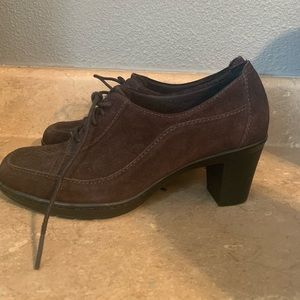 Clark's Heeled Loafers